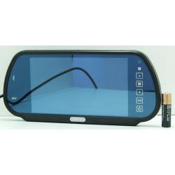 """Монитор-зеркало MP5 авто 7"""" 2 видео, USB E703"""