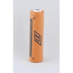 Аккумулятор для фонарика №18650 6800mA №007 оранжев.