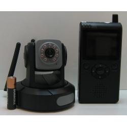 ВИДЕОняня ZTV 8602Q 2,4G (100м) поворач. 360 гр.