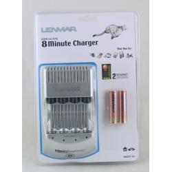 Зарядное устройство Lenmar MSC-815E (ЗУ+ 2AA) (заряд за 8 минут)