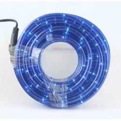Шнур (дюралайт) 10м 8 функц. (синий)