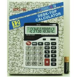 Калькулятор 705 (SDC-705) 12 разр. больш. экр.