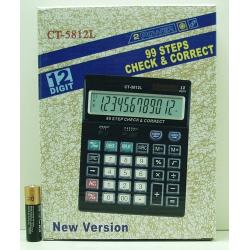 Калькулятор 5812 (CT-5812L) 12-разр. большой экр.