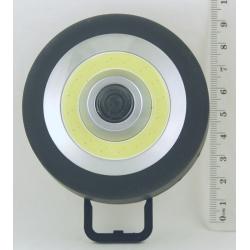 Фонарь светодиодный (1 больш. лампа, 3AА с магнит. кругл.) Y-777