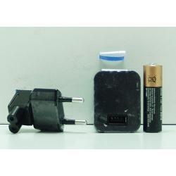 Зар. устр-во для IPHONE/IPAD сетев. 2,1A AB-13 черн.