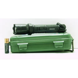 Электрошокер с фонариком (1ярк.+ авто ЗУ+ аккум.) FA-1102 пласт. упак