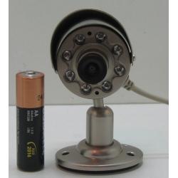ВИДЕОкамера цвет. 906C-C (с б/п) 8ламп, козырек