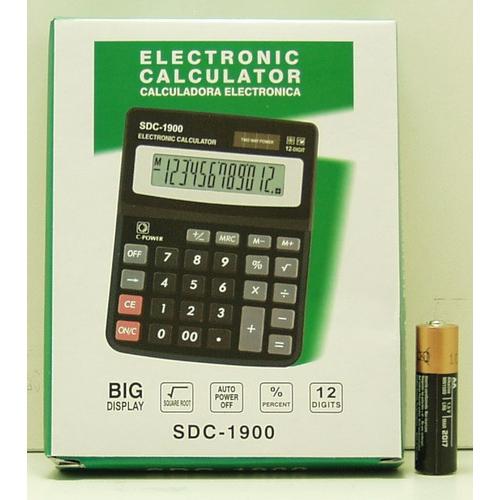 Калькулятор 1900 (SDC-1900) 12 разр. сред.