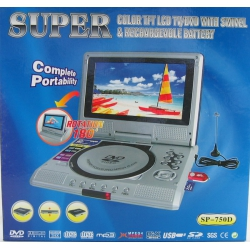 "SP-750D (7"" MP4/DVD/CD/MP3) USB"