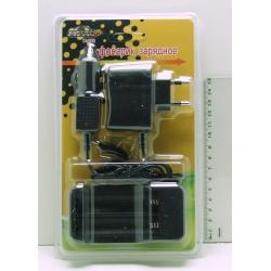 Зарядное устройство для 2акк. 18650 (сет.+ авто) H-282 блист.