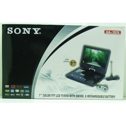 "SONY 7075 (7"" MP4/DVD) USB, SD/MMC"