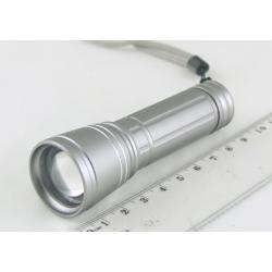 Фонарь светодиодный (1 мощ. 1AА) 100W Y-826 zoom малый
