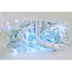Гирлянда 100 светодиод. (шторки) белые (белый шнур) 2,5м*2,8м уличн.
