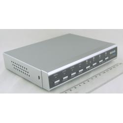 Квадратор цветной (на 8 кам.) TA-808 (402TX) с пульт.