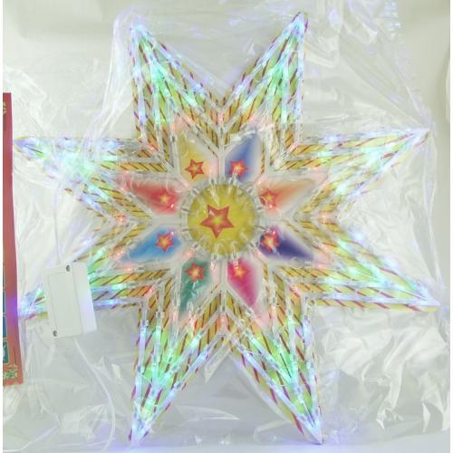 Гирлянда - звезда разноцв. диодная AY-1030