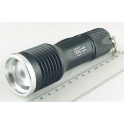 Фонарь светодиодный (1 мощ. акк.+ЗУ) Поиск P-818-T6 zoom
