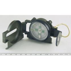Компас с плав. катушкой (зеленый) DC45-2 метал.