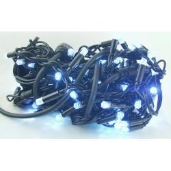 Гирлянда 100 светодиод. (шторки) белые (черный шнур) 2,5м*2,8м уличн.