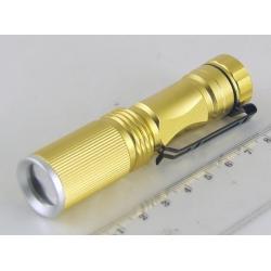 Фонарь светодиодный (1 мощ. 1AAА) №5808 100W с прищеп. zoom