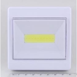 Фонарь светодиодный (1 больш. лампа, 3AAА) №305A выключатель