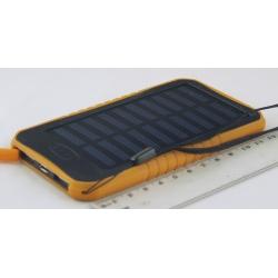 PowerBank EK-13 12000mAh с фонарем 5ламп, солнеч. батар.