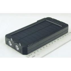 PowerBank EK-2 25000mAh с фонарем, солнеч. батар.