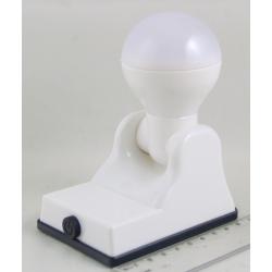 Фонарь светодиодный (1 больш. лампа, 3AА) №9001B