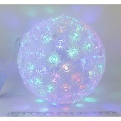 Гирлянда - шар светодиод. разноцв. 100 диод.