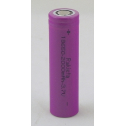 Аккумулятор для фонарика №18650 2000mA (упак.50шт) дорог. РАКЕТА