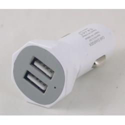 Блок питания для MP3 (2 USB,без шн.) 5V 2000mA прикур. AB-06 AFKA