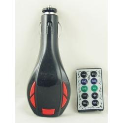 MP3 модулятор авто FM-614 SD (с пультом) с экр.