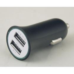 Блок питания для MP3 (2 USB,без шн.) 5V 2,1/1A прикур. KO-05