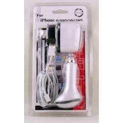 Зарядное устройство для IPHONE 5 от сети, прикур. HY-013A