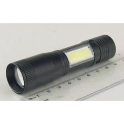 Фонарь светодиодный (1 мощ.+ 1 больш. 1AА) Y-1131 zoom