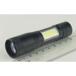 Фонарь светодиодный (1 мощ.+ 1 больш. 1AА) NG-542 zoom