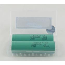 Аккумулятор для фонарика №18650-26F 2600mA SAMSUNG (по 2шт) дорог.