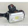 Фонарь головной (1 больш.+ 2 лампы аккум.) H-553 zoom