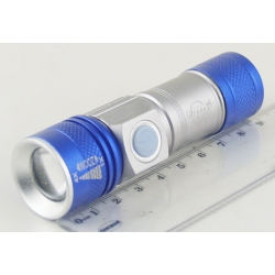 Фонарь светодиодный (1 мощ. акк.) 100W YY-503 USB zoom
