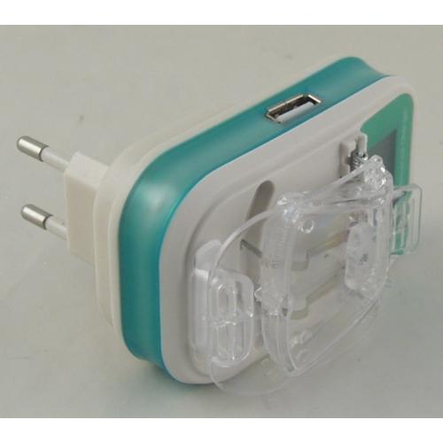 Зарядное устройство универс. от сети лягуш.USB,с экр. LP-120