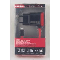 Зарядное устройство для IPHONE5 сетев. 2,5A P-01