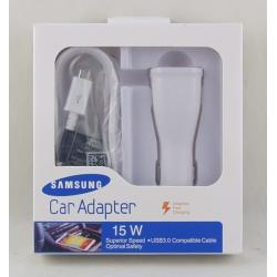 Зарядное устройство для SAMSUNG авто 2A S8+V8 USB Fascon
