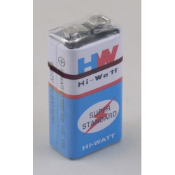 Крона HI-WATT 9V (упак. 10 шт)
