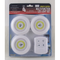 Подсветка для шкафа 3 лампы с пультом BL-1012-COB