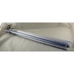Гирлянда (сосульки) штора (8шт.) 50см 18 ламп белые