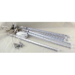 Гирлянда (сосульки) штора (8шт.) 30см 12 ламп белые