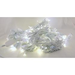 Гирлянда 480 светодиод. (шторы) теплые белые + белые уличн.