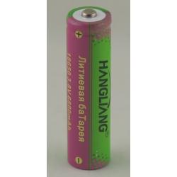 Аккумулятор для фонарика №18650 6800mA цветной HANGLIANG