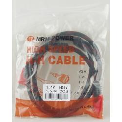 Шнур HDMI-HDMI 1,5м №99