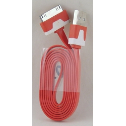 Шнур для IPHONE/IPAD 4/4G 1м лапша №503