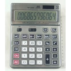 Калькулятор 2200 (AX-2200) 12-разр. большой экр.